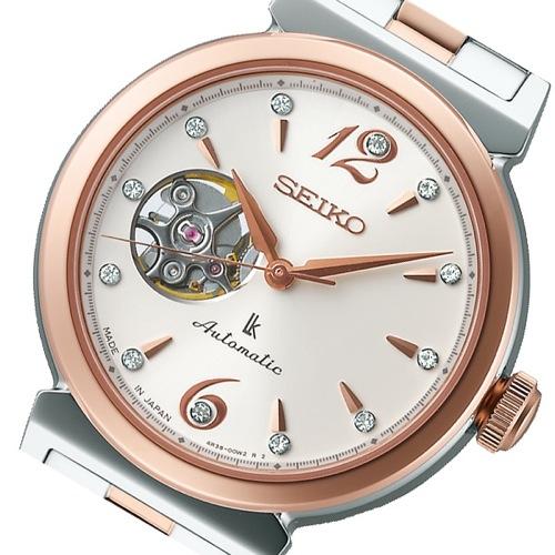 セイコー SEIKO ルキア 自動巻き レディース 腕時計 SSVM010 アイボリー 国内正規