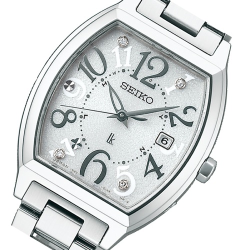 セイコー SEIKO ルキア ソーラー レディース 腕時計 SSVW047 シルバー 国内正規