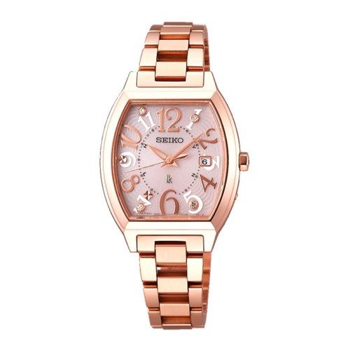 セイコー SEIKO ルキア ソーラー レディース 腕時計 SSVW050 ピンク 国内正規