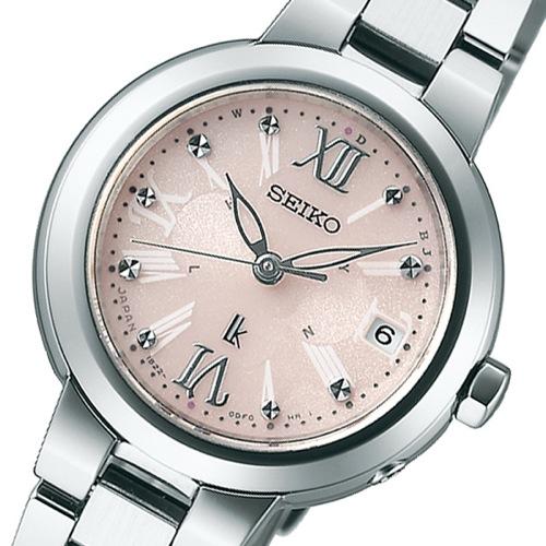 セイコー SEIKO ルキア ソーラー レディース 腕時計 SSVW067 ピンク 国内正規