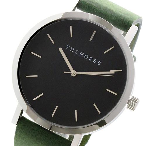 ザ ホース オリジナル クオーツ ユニセックス 腕時計 ST0123-A13 ブラック/グリーン></a><p class=blog_products_name