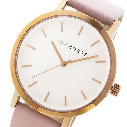 ザ ホース オリジナル クオーツ ユニセックス 腕時計 ST0123-A14 ホワイト/ブラッシュ
