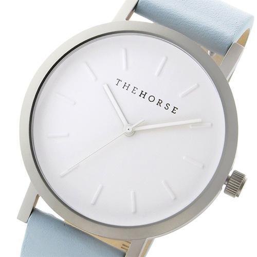 ザ ホース オリジナル クオーツ ユニセックス 腕時計 ST0123-A18 ホワイト/ブルー