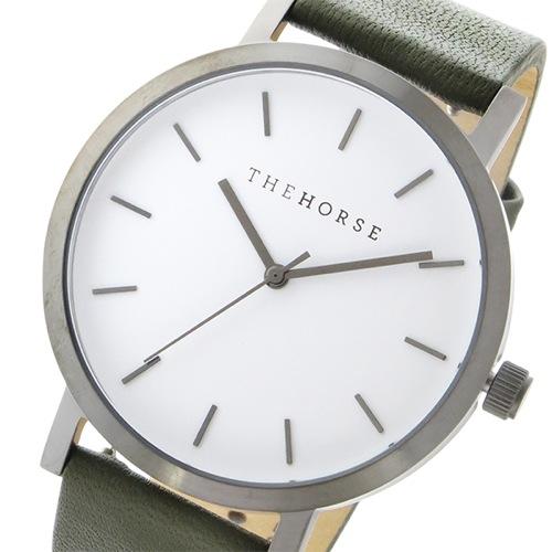 ザ ホース オリジナル クオーツ ユニセックス 腕時計 ST0123-A20 ホワイト/オリーブ