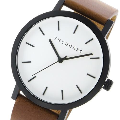 ザ ホース オリジナル クオーツ ユニセックス 腕時計 ST0123-A9 ホワイト/ウォルナット