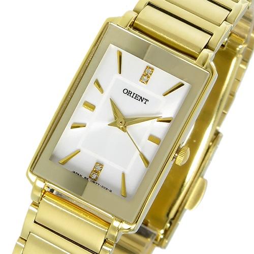 オリエント クオーツ レディース 腕時計 SUBTT007W0 ホワイトシルバー/ゴールド></a><p class=blog_products_name