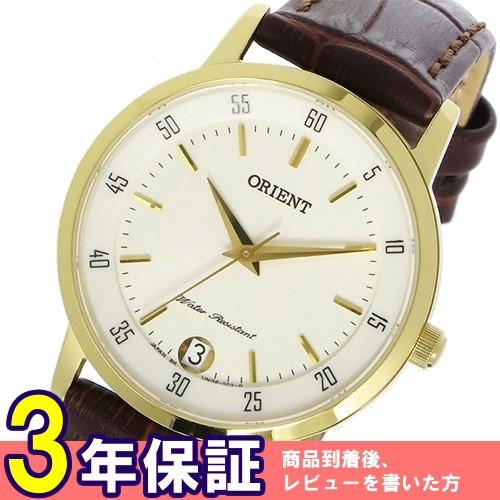 オリエント ORIENT クオーツ レディース 腕時計 SUNG6003W0 ホワイト