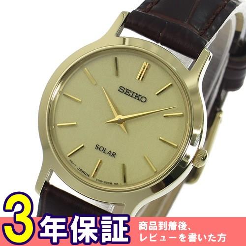 セイコー SEIKO ソーラークオーツ レディース 腕時計 SUP302P1 ゴールド