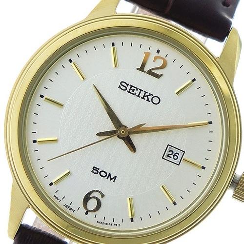 セイコー クオーツ レディース 腕時計 SUR658P1 シルバー/ブラウン></a><p class=blog_products_name