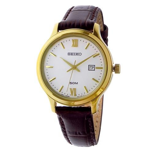 セイコー クラシック クオーツ レディース 腕時計 SUR702P1 ホワイト