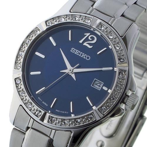 セイコー クオーツ レディース 腕時計 SUR721P1 ネイビー