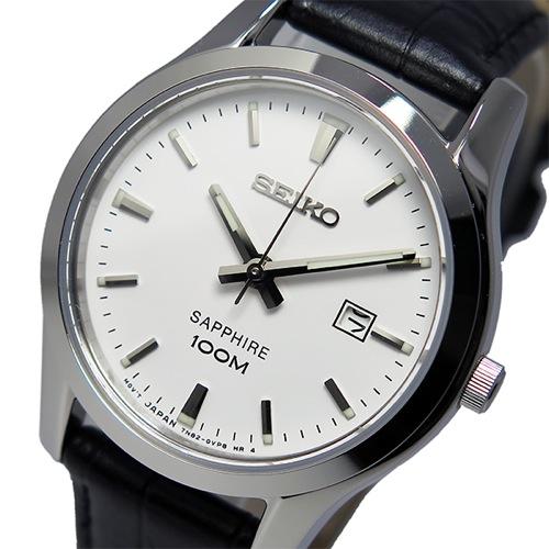 セイコー SEIKO クオーツ レディース 腕時計 SXDG65P1 ホワイト