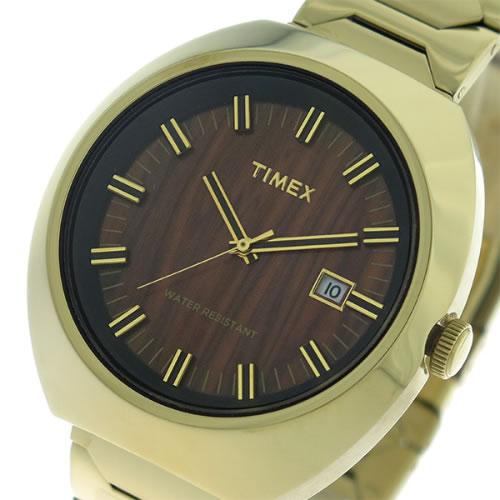 タイメックス リミテッドエディション クオーツ ユニセックス 腕時計 T2N881 ウッド/ゴールド></a><p class=blog_products_name