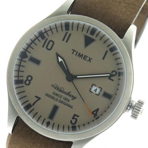 タイメックス ウォーターベリー クオーツ ユニセックス 腕時計 TW2P64600 ブラウン/ブラウン></a><p class=blog_products_name