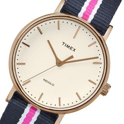タイメックス ウィークエンダー レディース 腕時計 TW2P91500 アイボリー 国内正規