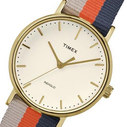 タイメックス ウィークエンダー レディース 腕時計 TW2P91600 アイボリー 国内正規