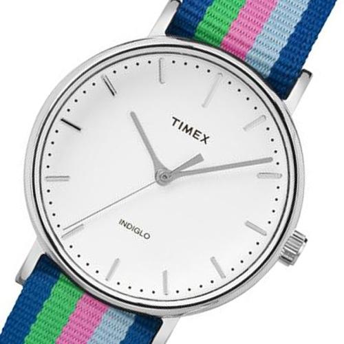 タイメックス ウィークエンダー レディース 腕時計 TW2P91700 ホワイト 国内正規