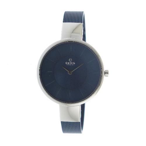 オバク クオーツ ユニセックス 腕時計 V149LXCLML ネイビー></a><p class=blog_products_name