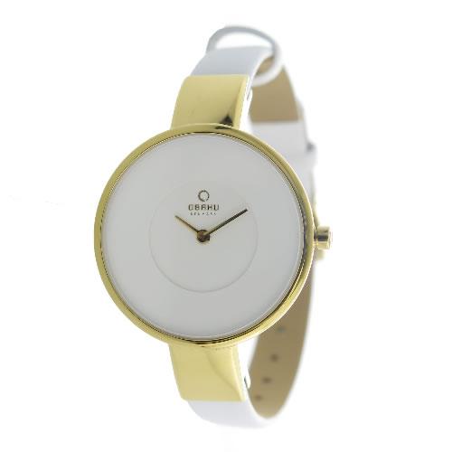 オバク クオーツ ユニセックス 腕時計 V149LXGIRW ホワイト></a><p class=blog_products_name
