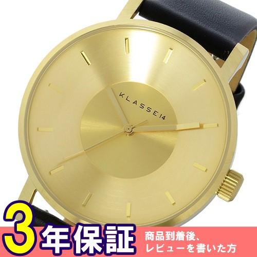 クラス14 KLASSE14 ヴォラーレ Volare 42mm ユニセックス 腕時計 VO14GD001M ゴールド/ブラック