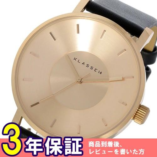 クラス14 ヴォラーレ 42mm ユニセックス 腕時計 VO14RG001M ローズゴールド/ブラック
