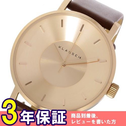 クラス14 KLASSE14 ヴォラーレ Volare 42mm ユニセックス 腕時計 VO14RG002M ローズゴールド/ブラウン
