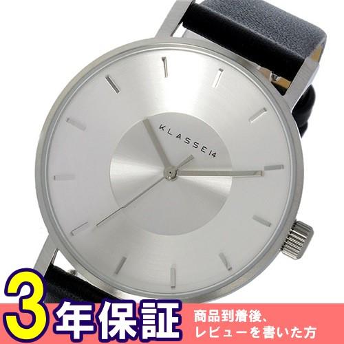 クラス14 ヴォラーレ 35mm レディース 腕時計 VO14SR001W シルバー/ブラック