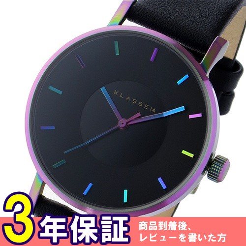 クラス14 ヴォラーレ Volare レインボー 36mm レディース 腕時計 VO15TI001W ブラック