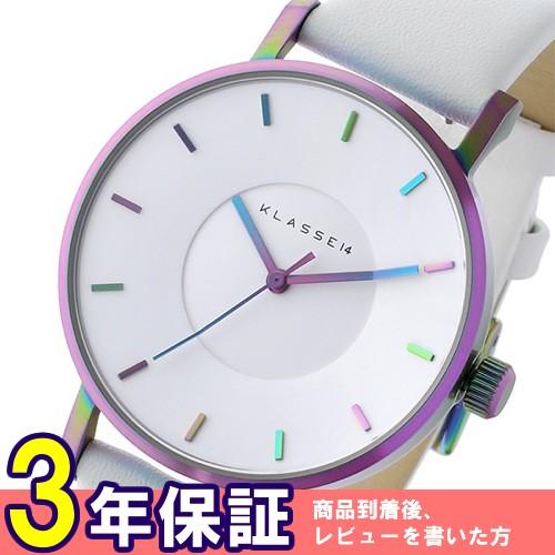 クラス14 ヴォラーレ Volare レインボー 36mm レディース 腕時計 VO16TI003W ホワイト