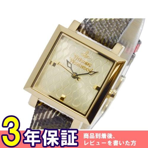 ヴィヴィアン ウエストウッド クオーツ レディース 腕時計 VV087GDBR