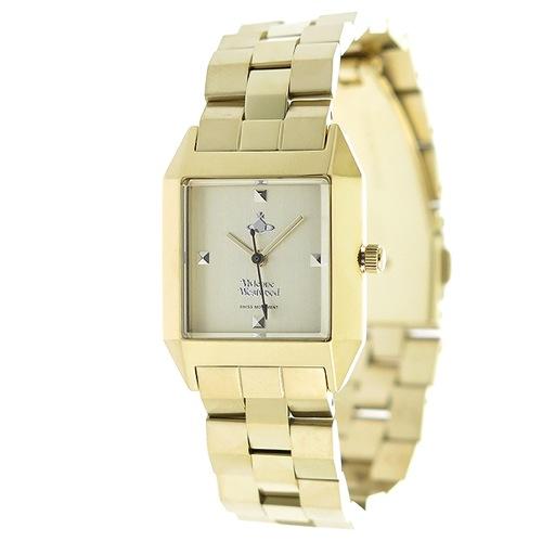 ヴィヴィアンウエストウッド クオーツ レディース 腕時計 VV143GDGD シャンパンゴールド/ゴールド