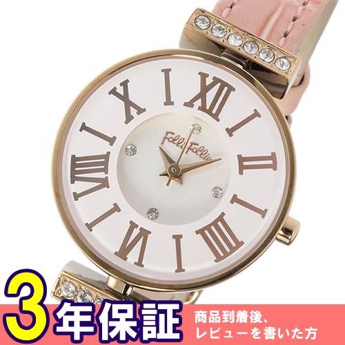 フォリフォリ ミニダイナスティ クオーツ レディース 腕時計 WF13B014SSW-OR ホワイト></a><p class=blog_products_name