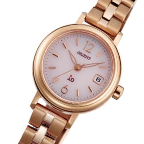 オリエント イオ ソーラー レディース 腕時計 WI0011WG ピンク 国内正規></a><p class=blog_products_name